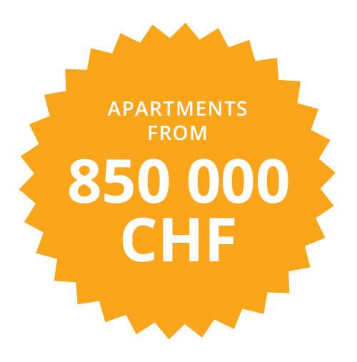 Apartments from 850000 CHF